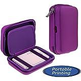 Navitech Étui violet pour le LG Portable Mobile Pocket Photo PD241 PD241T