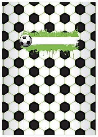 32 cool cool cool cahiers sportifs pour les fans de football, blanc, A4 (29,7x21; 32p), cahiers de notes/ carnets de notes linéatur 20 (pages blanches) | Qualité Supérieure  abb45d