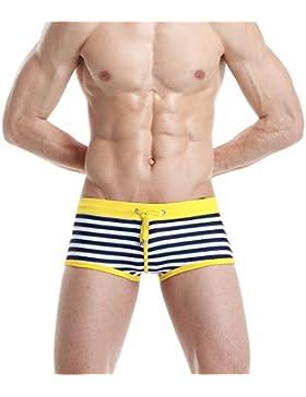 Pantalones de playa Troncos de baño transpirables para hombres Troncos de natación de aguas rápidas Troncos de...