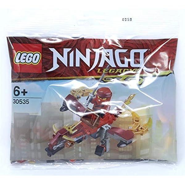 Lego Figur Zubehör Ninjago Rückenhalter für Säbel Dunkelbraun 1634 #