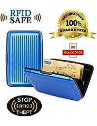 Aluminium Credit Card Wallet Holder Rfid Blocking