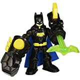 Fisher Price Imaginext Toy - DC Super Friends - Thunder Punch Batman Action Figure by DC Super Friends