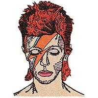 David Bowie Patch von mimosch - Aufnäher