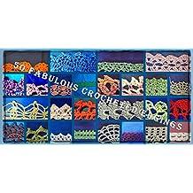 50 Fabulous Crocheted Edgings (English Edition)