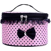 Rawdah, Trousse portatile da viaggio porta cosmetici, borsa trucco, borsetta