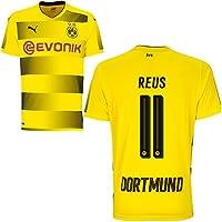 Puma BVB Borussia Dortmund Home Trikot 2017 2018 Heimtrikot mit Spieler Name Farbe Reus, Größe 152