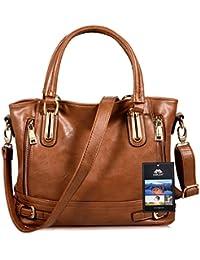 Vbiger Damen Handtasche Damen Henkeltasche Elegante Umhängetasche für Damen weibliche Schultertasche