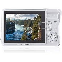 "Andoer 1280 * 720 HD Cámara Digital 18MP 2.7 ""TFT 8x Zoom Captura de Sonrisa Anti-Vibración Vídeo Cámara"