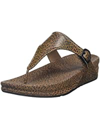 FitFlop Superjelly Leopard, Sandales  Bout ouvert femme