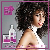 Kit capelli professionale ricci perfetti Per ricci definiti elastici uno Shampoo 1 l +1 maschera 1 kg +1 trattamento senza risciacquo