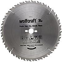 Wolfcraft 6666000 6666000-1 Hoja de Sierra Circular HM, 32 dient, Serie Verde diam. 350 x 30 x 3,5 mm, 350x30x3.5mm