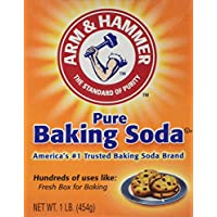 Arm & Hammer Baking Soda Unscented Box, Boxed 1 Lb. by Church & Dwight