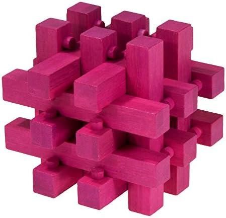 Fridolin - 17183 - Puzzle 3D 3D 3D - Fermé - Magenta | Matière Choisie  6d0ded