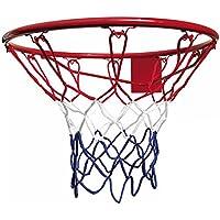 BONUS ET SALVUS TIBI (BEST)) Best - Red de baloncesto, para aro de 45 cm, color azul, blanco y rojo