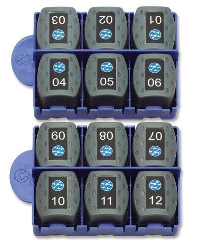 Kit de 12 unités distantes RJ45 IDEAL Networks VDV II RJ45-REMOTE-KIT
