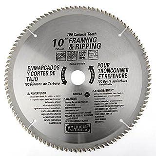 ATE Pro. USA 33085100Zähne Hartmetall Klinge, 25,4cm