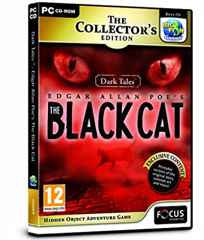 Dark Tales: Edgar Allan Poe's The Black Cat Collector's Edition (PC CD)