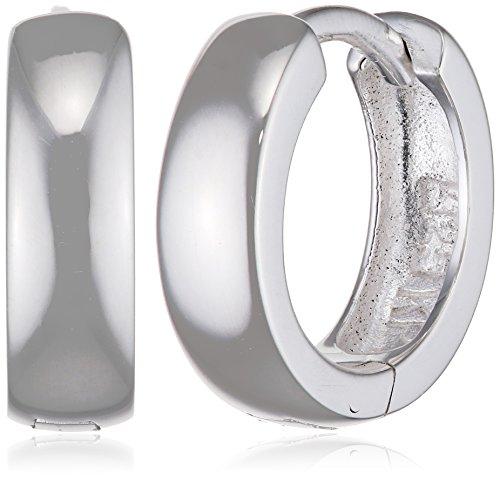 SilberDream Ohrringe 12mm Damen-Schmuck 925er Silber Creolen klein SDO333S2