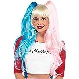 Suicidio Harley Quinn estilo peluca desviadas