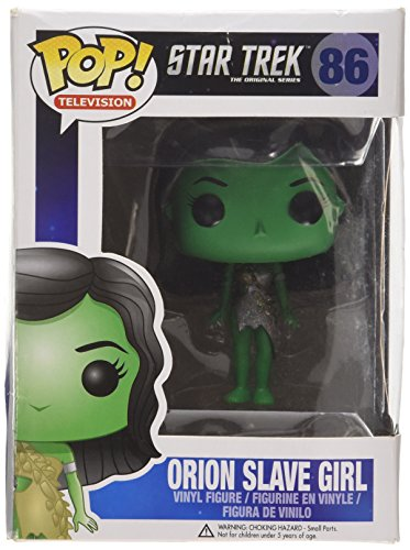Star Trek Funko Pop TV Vinyl Figur : Orion Slave Girl (Sklaven-figuren)