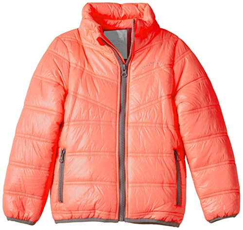 name it Mädchen Jacke Maple mini light jacket, neon Corall (92) (Kids Jacket Mini)