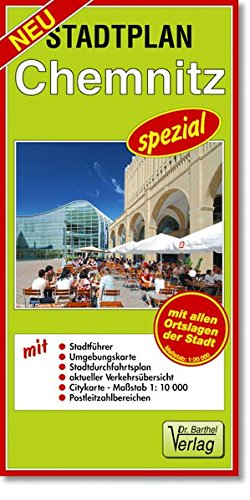 Stadtplan Chemnitz - spezial: Maßstab 1:20000