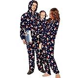 Familie Zusammenpassen Weihnachten Schlafanzug Pyjama Set Mama Papa Kinder Sleepwear Nachtwäsche Herren Damen Sleepwear ABsoar Familienanzug Pyjamas
