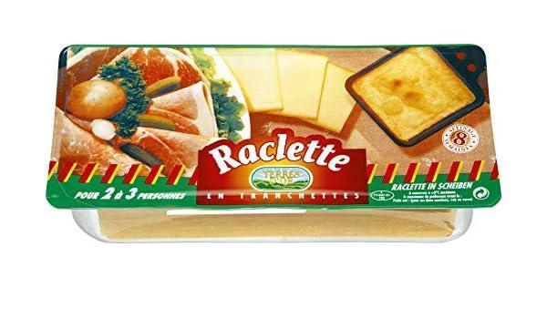 Terres Dor Raclette Käse In Scheiben 48 400g Amazonde