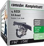 Rameder Komplettsatz, Anhängerkupplung schwenkbar + 13pol Elektrik für Audi A4 Avant (112726-05377-1)
