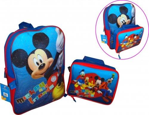 unde Rucksack mit Mittagessen Tasche Set ()