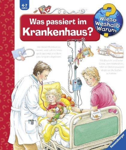 Portada del libro Was passiert im Krankenhaus? by Andrea Erne (2015-11-01)
