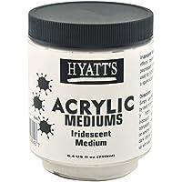 Hyatt's Acrylic Iridescent Medium, 8 Ounce Bottle
