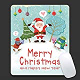 AieniD Gaming Mousepad Weihnachtsmuster Mehrfarbig Mauspad Size:240X200X3MM
