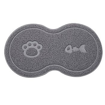 Tapis pour Gamelles de Chien Sunater en PVC Tapis de nourriture pour chiens, chats et animaux de compagnie
