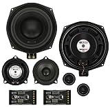 MB Quart 2x 20 cm Lautsprecher-Komponentensystem 3-Wege BMW 1er Cabrio passgenau Plug and Play Komplett System exakte Passgenauigkeit in bereits vorhandenene Lautsprecheraussparungen
