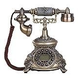 binglinghua Retro Vintage Old Antik Stil Rotary Zifferblatt Home Decor Schreibtisch Telefon