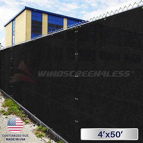 4-altezza-per-recinzione-giunto-sigillante-colore-nero-con-filtro-privacy-per-lo-schermo-per-parabre