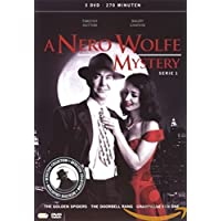 A Nero Wolfe Mystery - Series 1 - 3-DVD Box Set ( A Nero Wolfe Mystery - Series One ) ( The Golden Spiders / The Doorbell Rang (The Door bell Rang) / Champagne for One (Champagne for 1) )