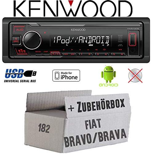 Autoradio Radio Kenwood KMM-205 - MP3   USB   iPhone - Android...