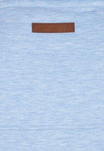 Naketano Male Hoody Küfürbaz AMK III Amazing blue Melange