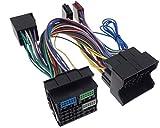 Parrot THB Adapter kompatibel mit Audi SEAT Skoda VAG ab 2009 52pin Bluetooth Quadlock ISO Kabel