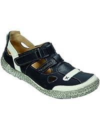 MICCOS Chaussures de Ville à Lacets Pour Femme Bleu Smog/Komb. - Bleu - Smog/Komb,