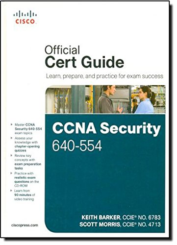 CCNA Security 640-554 Official Cert Guide por Keith Barker