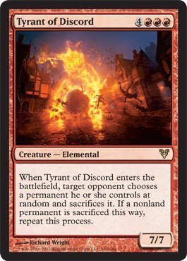Magic: The Gathering - Tyrant of Discord - Avacyn Restored by Avacyn  Restored