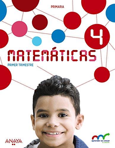 Matemáticas 4. (Aprender es crecer en conexión) - 9788467877816 por Luis Ferrero de Pablo