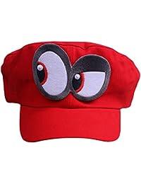 Super Mario gorra Odyssey - Costume para adultos y niños - Perfecto para el  Carnaval y f8eaf61f1bc