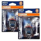 Best H11 Bulbs - Osram Night Breaker Unlimited Headlight Bulbs Pair-H11 (64211NBU) Review