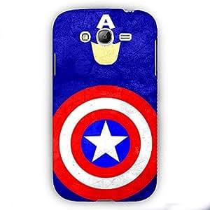 EYP Superheroes Captain America Back Cover Case for Samsung Grand 1 (9082)