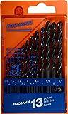PROJAHN 67000 drill bit set HSS 1,5-6,5 mm 13pcs plastic case