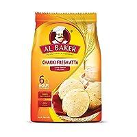 Al Baker Chakki Atta, 2 Kg Bag